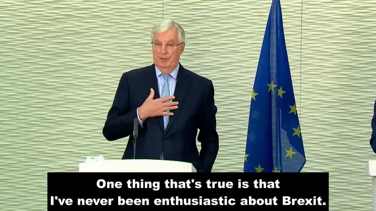 Michel Barnier: Nobody has ever been able to show me even the tiniest bit of added value of Brexit.