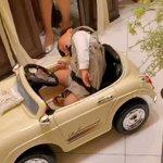 結婚式のリングボーイが本番で電池切れ爆睡運転!可愛すぎてめちゃくちゃ良い式になった!