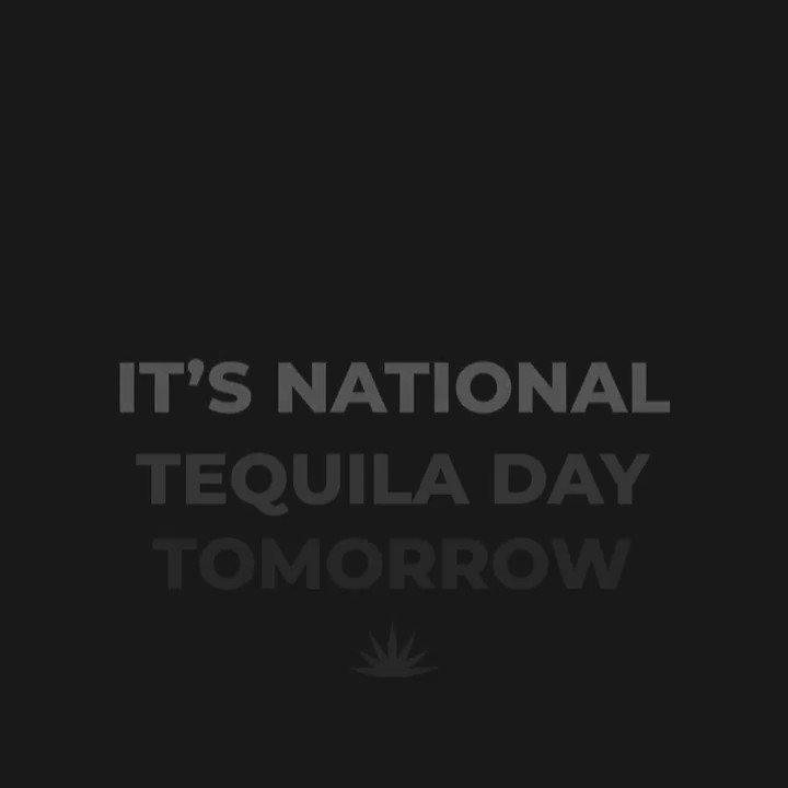 So #NationalTequilaDay falls on a Friday this year? Sounds like a party to us. Tag us in your posts and show us how you're celebrating tomorrow 🤘🤘🤘  #RockNRollTequila #Tequila https://t.co/QuLPxQD3LB