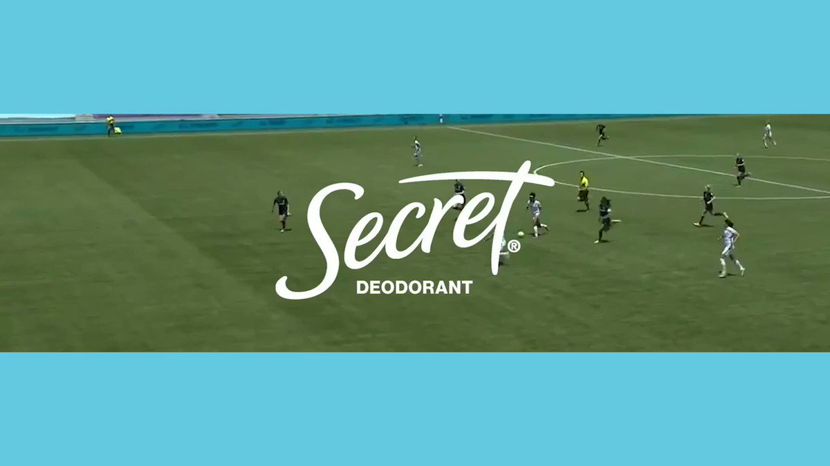 When I play, I give 100%. But women's sports only receive 4% of coverage. Crazy right? But the future is bright, especially with @SecretDeodorant backing the @NWSL. Support us too and tune into the #ChallengeCup Sunday, July 26 on @CBS 👊. #AllStrengthNoSweat #SecretDeoPartner