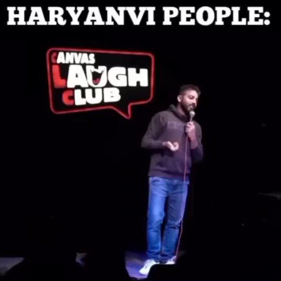 Vijay Yadav on Haryanvi people😂 . Follow @theentfactory for more! .  #haryanvi #haryana #love #rohtak #sonipat #delhi #jaat #panipat #desi #haryanvistatus #haryanviculture #karnal #jind #jaatni #kaithal #hisar #chandigarh #india #bhiwani #haryanviswag #punjabi #rewari #punjab https://t.co/NyNhmXOi5T
