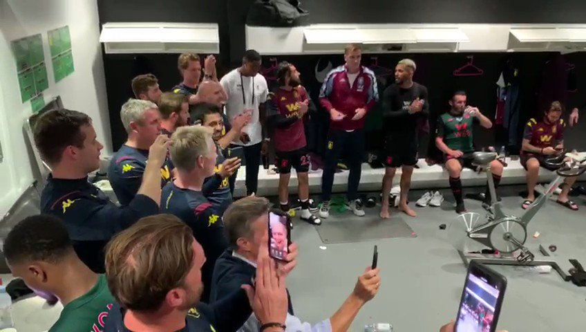 Never in doubt 😬 #UpTheVilla W https://t.co/mrmIMKbjRG