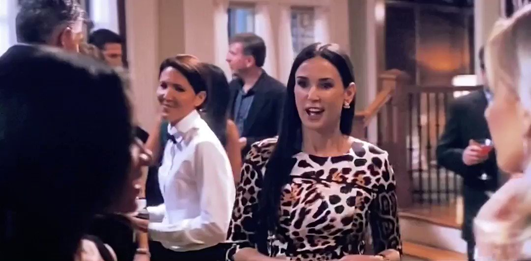 Um...I was casually watching a Demi Moore movie called The Joneses when suddenly Shereé & Wig appeared as extras. #rhoa