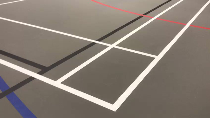 Image for the Tweet beginning: Our latest multiuse indoor sports