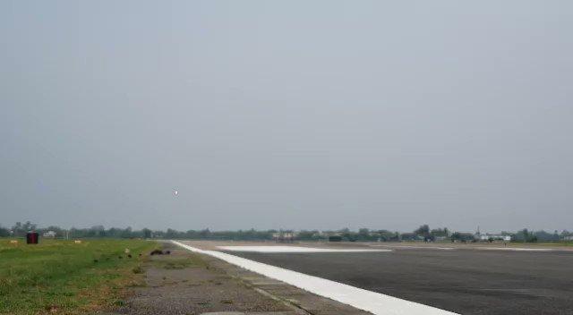 The Touchdown of Rafale at Ambala.