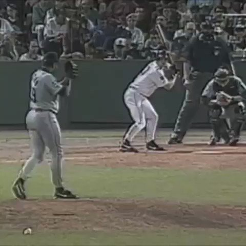 July 29, 1997: Jay Buhner robs Scott Hatteberg of a home run at Fenway Park