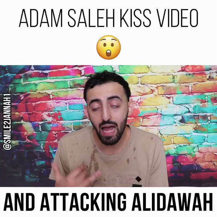 """Full vid: https://t.co/Ga6p6yVV6E Respect to @omgAdamSaleh for acknowledging his error/trying to improve & @SlimmySlim94 for helping him through this situation. But for Adam to call @AliDawow a """"phoney"""" & insult him like that is unacceptable. I know Ali and what hes been through. https://t.co/Lyee1pAeae"""