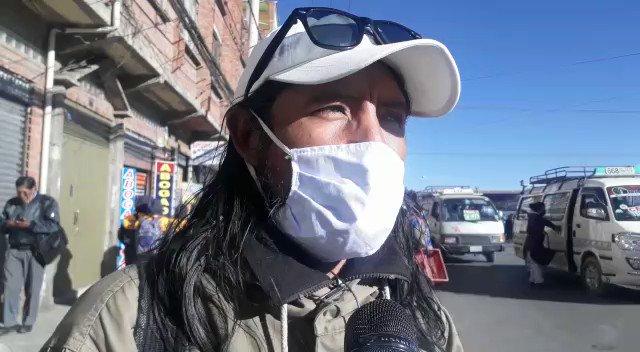 El representante de la Asamblea Permanente de Derechos Humanos de El Alto, David  Inca, condena la agresiones a periodistas y... | RTP Bolivia | Scoopnest
