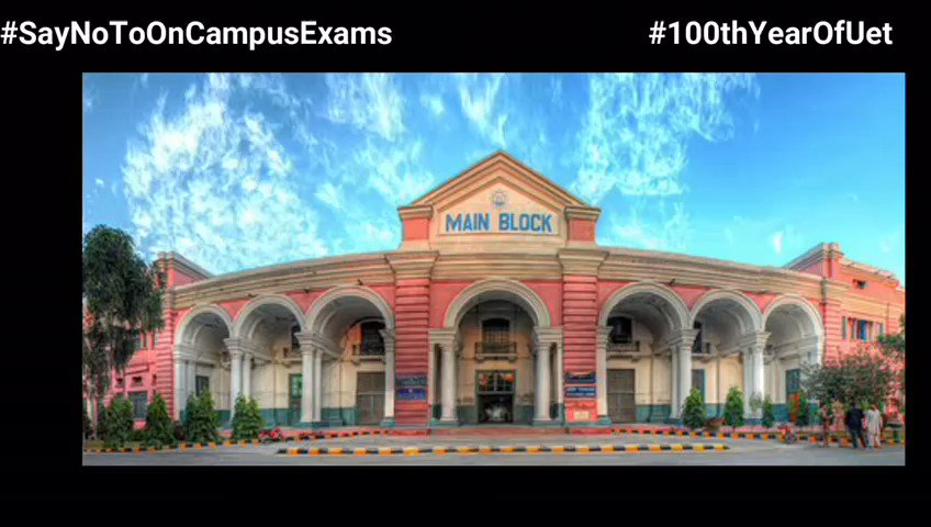 We want online exams #studentslivesmatter #DelayEcat #UET #SayNoToCampusExamspic.twitter.com/gFmleYdL9z