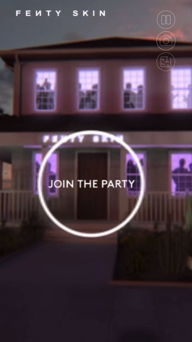 We're live y'all!! Come through to the virtual #FentySkinLaunchParty for all the dancing, drinks, Fenty Skin spa, live chats and more 🥳🥳 https://t.co/kv1JJaznsL https://t.co/4wvWEdSwYf