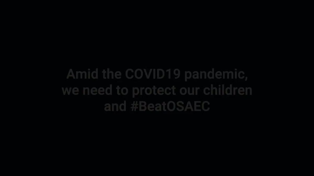 #COVID19 increases children's risk to be exposed to online sexual abuse and exploitation. We at @unicefphils call on everyone to do their part to #BeatOSAEC and end this heinous crime.   @CRNPhilippines @SaferKidsPH #WorldDayAgainstTrafficking #2020WDAT