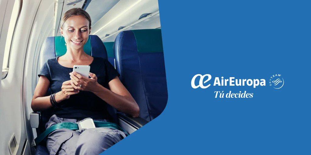 ¡Lanzamos nuevo servicio WI-FI a bordo!📶 Tan sólo tendrás que elegir el plan y estarás conectado durante todo el vuelo!💻📲✈ https://t.co/YbVoVRdqTW