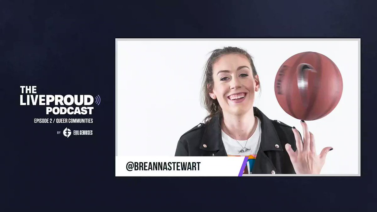Thank you @EvilGeniuses for having me on the #LiveProudpodcastto talk about being an LGBTQ+ athlete. https://t.co/HNSGvlMym0