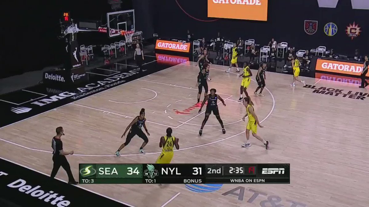 Despite both players missing the 2019 #WNBA season, @S10Bird and @breannastewart relied on their great chemistry to lead the @seattlestorm to a season-opening win! #WNBABreakdown https://t.co/hqhnFssgR5