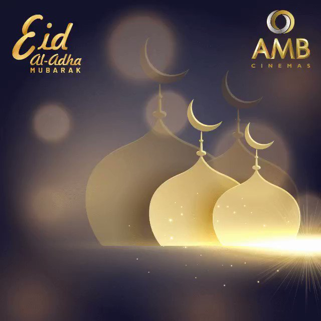 May the Almightys blessings bring everlasting love and happiness. AMB Cinemas wishes you and your family, Eid-al-Adha Mubarak! #Almighty #Blessings #Bakrid #EidAlAdha #Mubarak #Love #Happiness #AMBCinemas