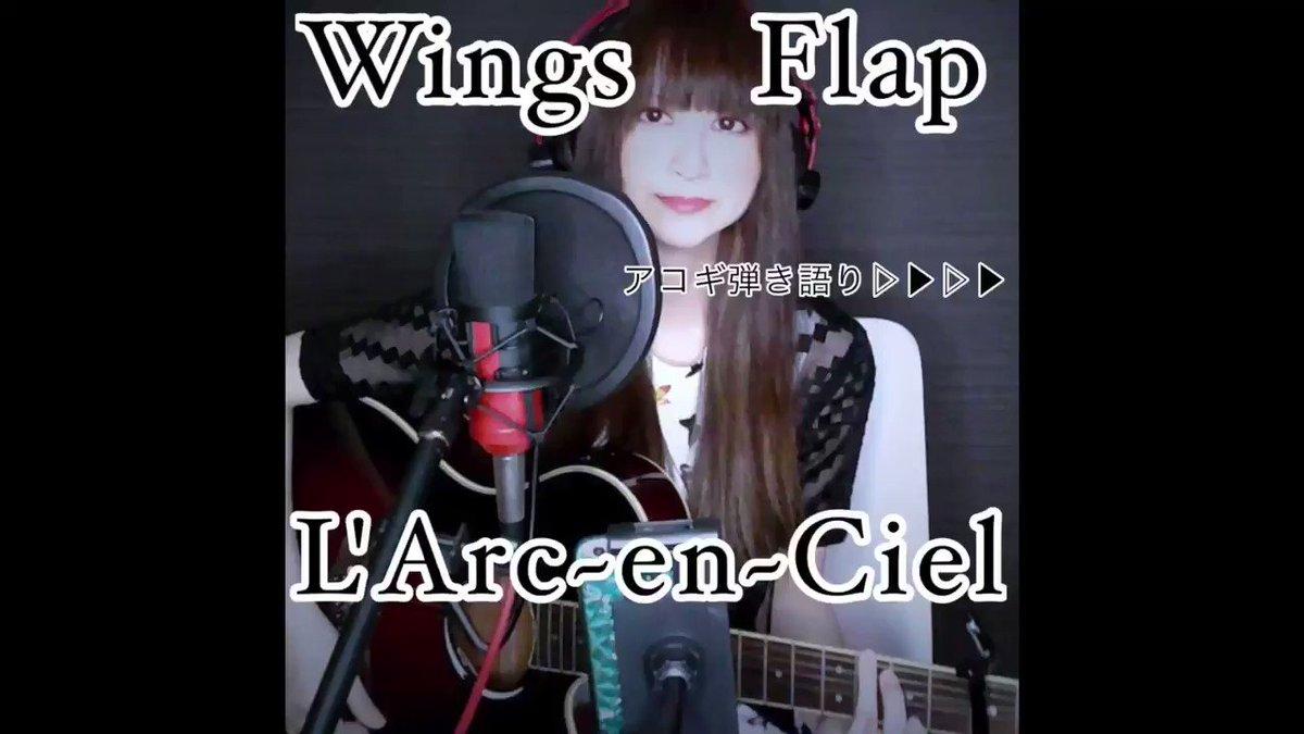 #歌ってみた #弾き語り しています!音楽好きな方、演奏してみた/歌ってみた/弾いてみた/叩いてみたされる方、DTMer、動画制作される方など、繋がりたいので宜しくお願い致します🌈動画は『Wings Flap/L'Arc~en~Ciel』アコギ弾き語りです#音楽好きと繋がりたい #ギター#larcenciel #ボーカル