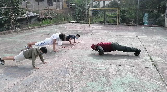 In Venezuela, if you leave home during the quarantine you will do push-ups, unless you are a Maduro supporting guerilla. Not unlike the exalted position members of Antifa enjoy with Democrats and some members of the media.