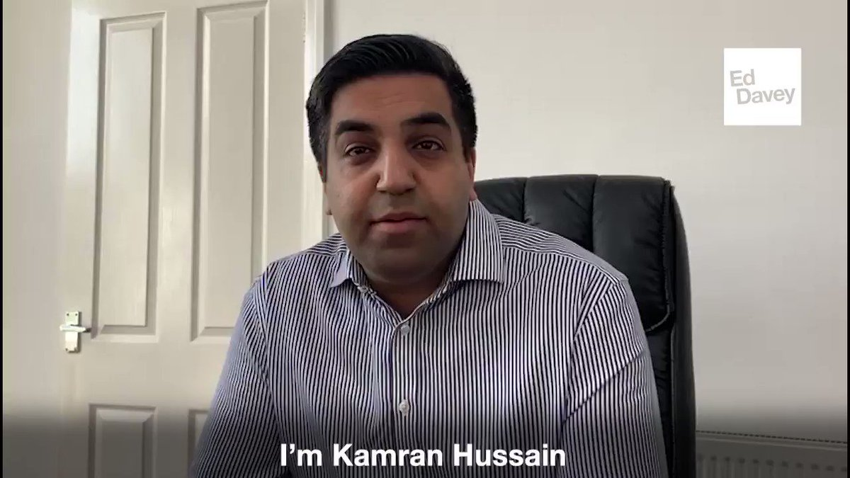 Im delighted @kam_hussain5, our brilliant Leeds NW candidate, has voted for me. We must speak to the concerns & aspirations of people in all parts of the country and in all communities. Im glad he and so many others see me as the leader who can make sure we do. #VoteEd today