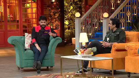 Don't miss the first episode of #TKSS after a long break with the Hero of #2020 @SonuSood paji 👏 tomorrow 9:30 pm @SonyTV #TheKapilSharmaShow stay safe 🙏
