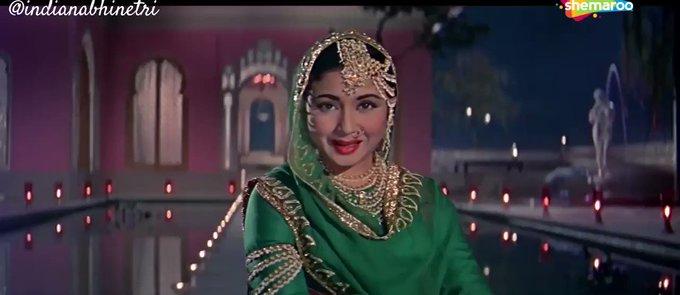 Meena Kumari in Pakeezah (Hindi, 1972)  Happy Birthday Meena Kumari