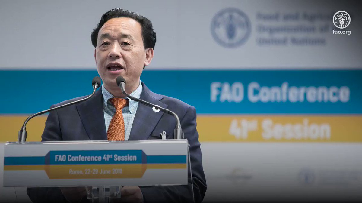 🔹Open 🔹Agile 🔹Digital 🔹Efficient 🔹Engaged 🔹Innovative 🔹Transparent 🔹Empowered 🔹Collaborative 🔹Action-oriented Since taking office a year ago, @FAODG QU Dongyu has transformed the organizational culture and created a new @FAO👇