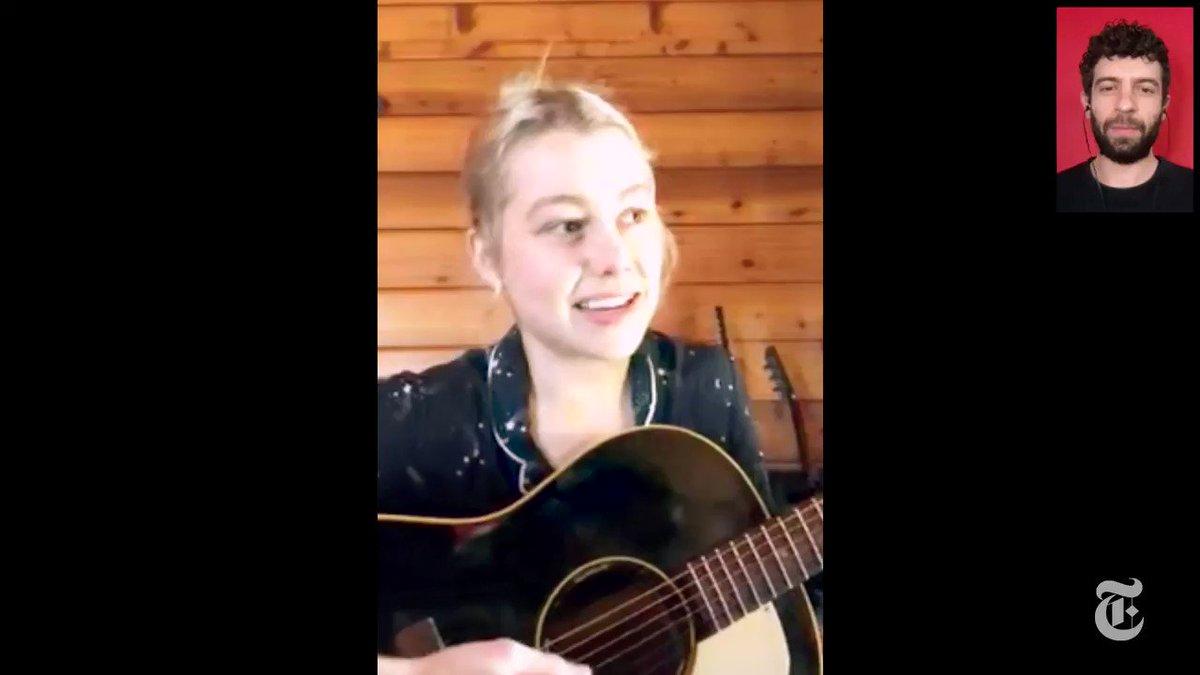 "Diary of a Song: Phoebe Bridgers, ""Kyoto"" nyti.ms/3ggTmBi"
