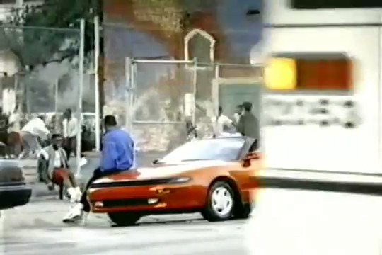 Look at Isiah Thomas coming through in his Toyota to save the day https://t.co/S8uDCjMj6C