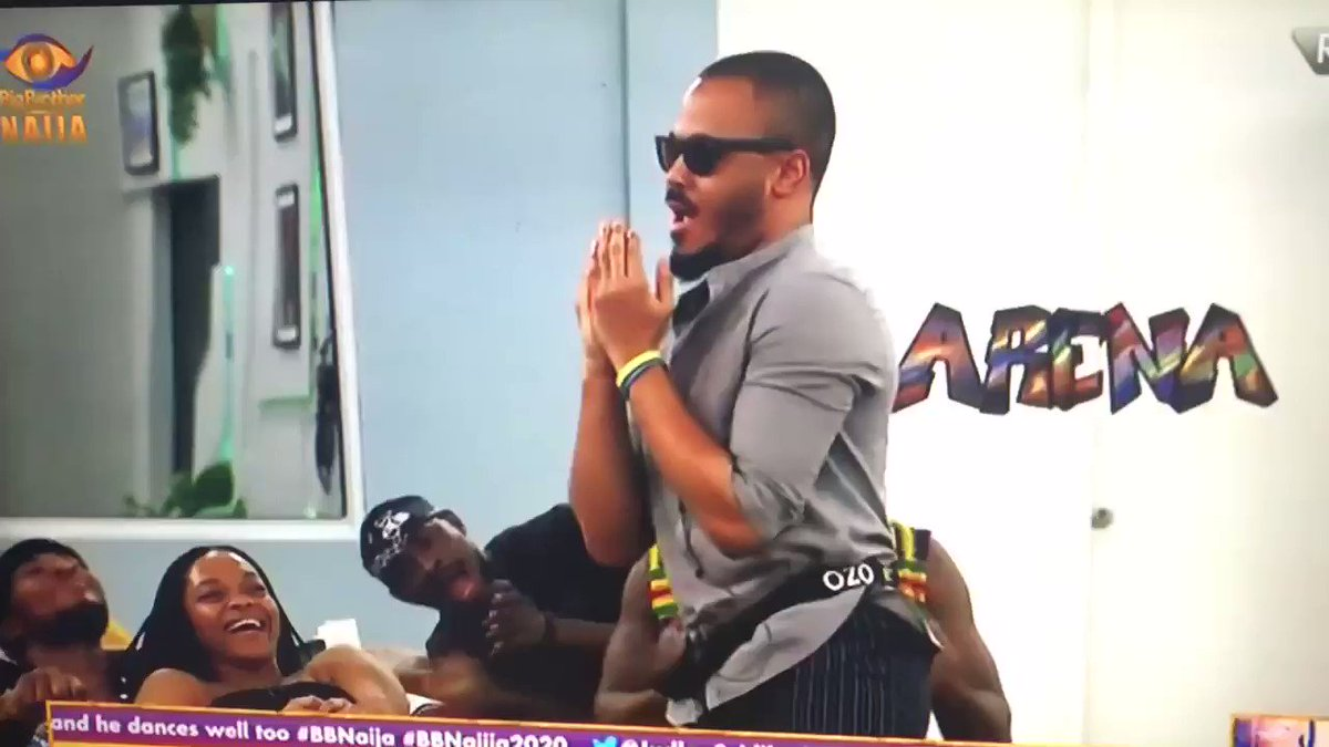 Who else is excited about tonight's party already?🕺🏽 #Superions⭕️ #BBNaija #ManLikeOzo