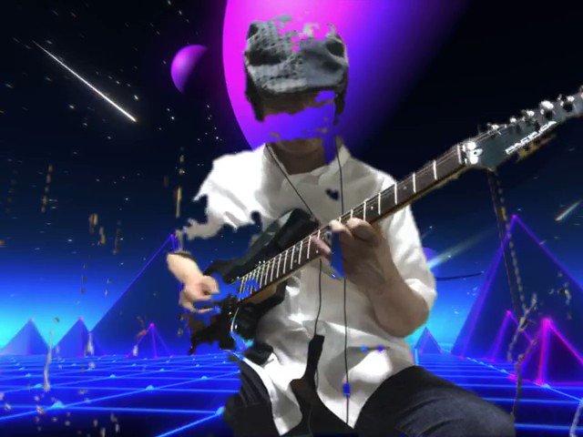 Cats eye、のMAXバージョンをギターインストで演奏してみました♪曲の途中からですが宜しかったらご視聴してみて下さい。