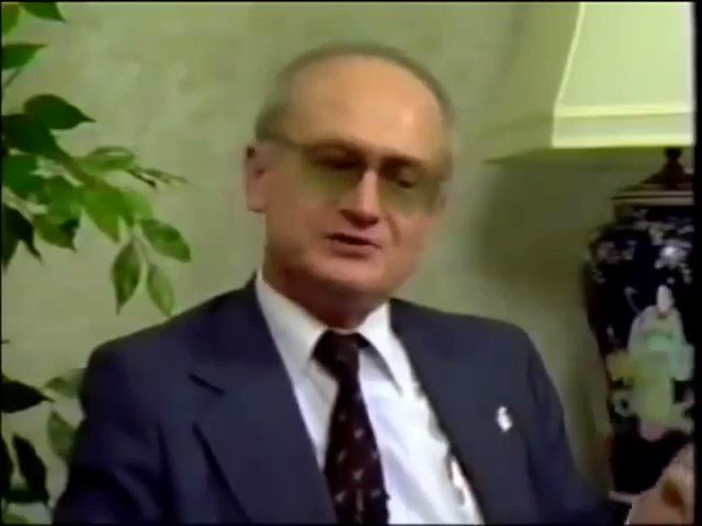 We are seeing this now played out in real time . . Warning from KGB Defector in 1980s
