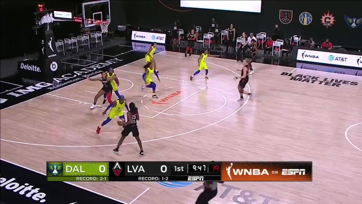 Best plays from @_ajawilson22 in the @LVAces win. #WatchMeWork https://t.co/HQyw6iwqVP
