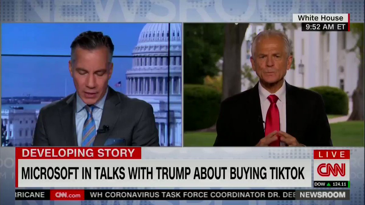 Peter Navarro says that Hydroxychloroquine works better than Remdesivir. This is a flat out lie. #mondaythoughts #MondayMotivation #mondaymorning