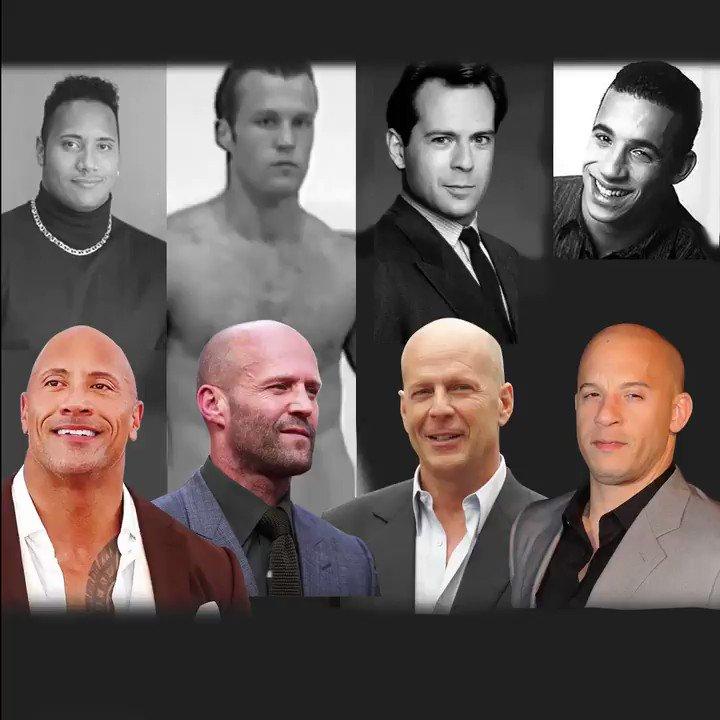 """Just Go Bald Because The Rock, Bruce Willis & Jason Statham Are Attractive""   Watch the full video on https://youtu.be/bVBX9yGsJF4  #MorePlatesMoreDates #HairLoss #Celebrities pic.twitter.com/qEcgV2HfRT"