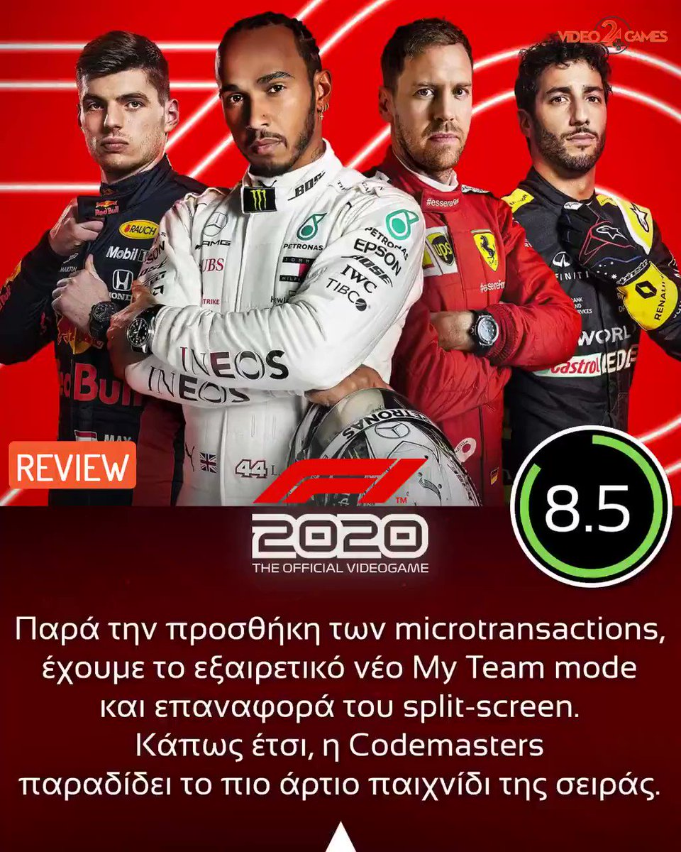 F1 2020 [8.5/10] Review https://t.co/j7dDYFNeka  @Formula1game @Codemasters #F12020 #F12020game #Formula1 #Formula12020 #Racing #PS4 #PlayStation4 #XboxOne #PC #PCGame #Review #Gaming #VG24_Review https://t.co/eNK6K2w9lx