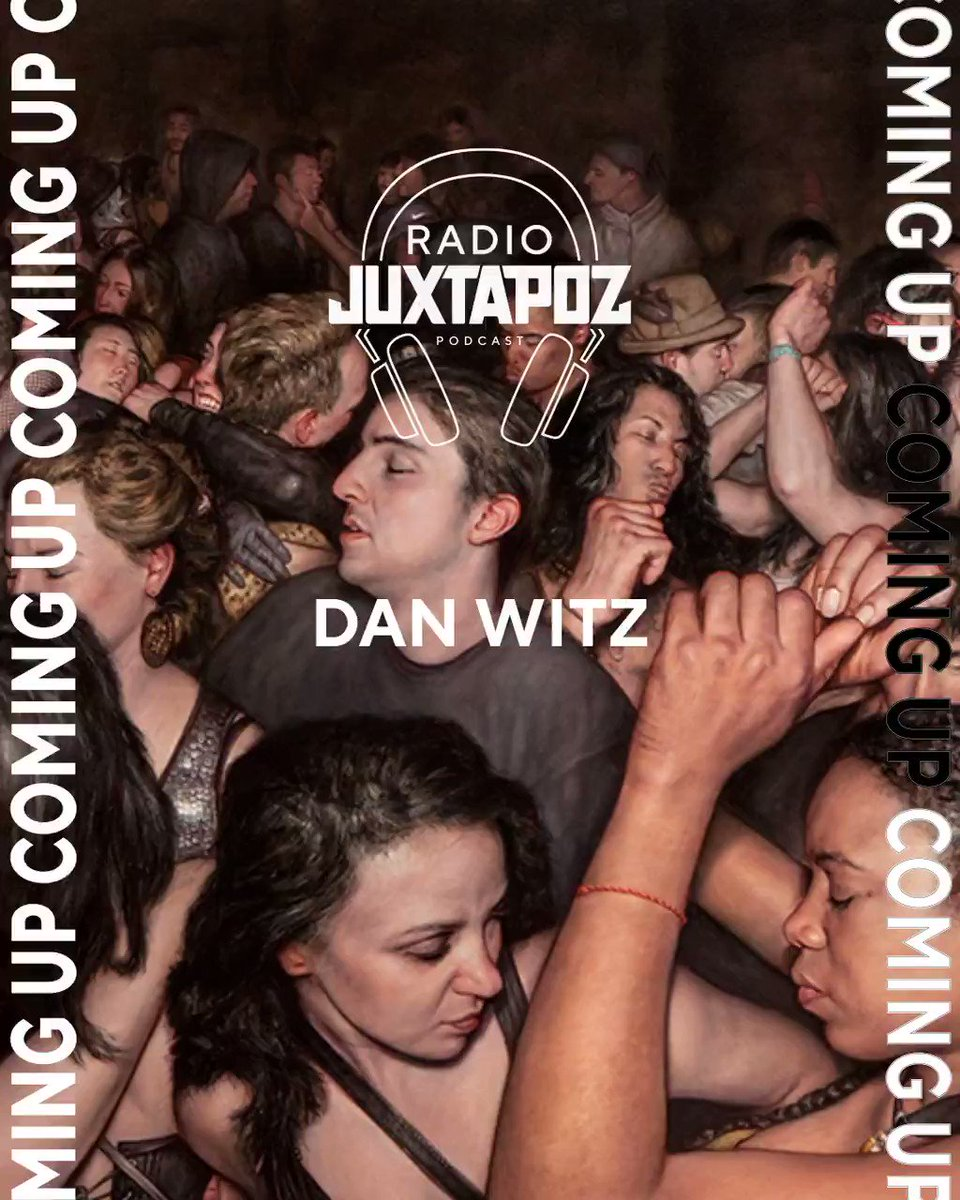 Coming up this week on the #RadioJuxtapoz podcast, a conversation with the legendary street artist and painter, #DanWitz, and a discussion about the many eras of his work and the political nature of his current projects https://t.co/XYmTJslYW1 https://t.co/VmB0VJixlJ