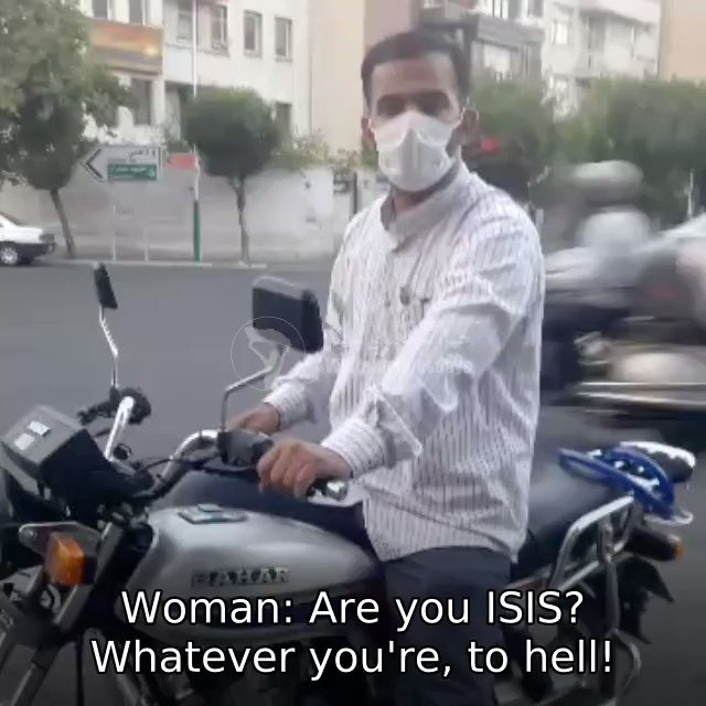 Do you know why Iranians call the Islamic Republic regime in Iran ISIS? Because it has ISIS-like morality laws  This woman was harassed by a pro-regime vigilante for hijab. Look how she stands her ground & films him.  That's how our campaign of #MyCameraIsMyWeapon empowers women https://t.co/5yVmyyT4tp