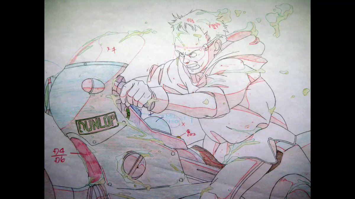 Is there anything more incredible than the 'Akira' pencil tests?