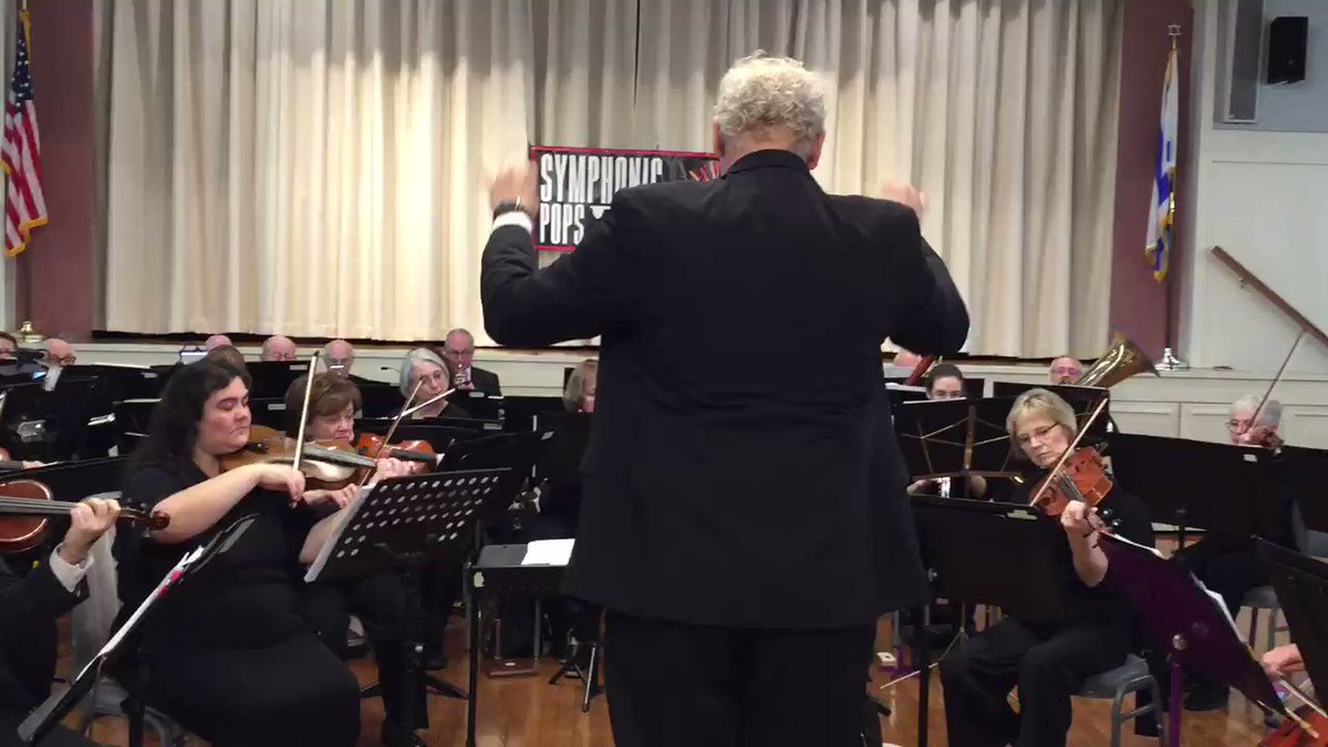 Symphonic Pops of Long Island plays Hatikvah in memory of those killed and injured in the Tree of Life Synagogue. #togetheragainstantisemitism