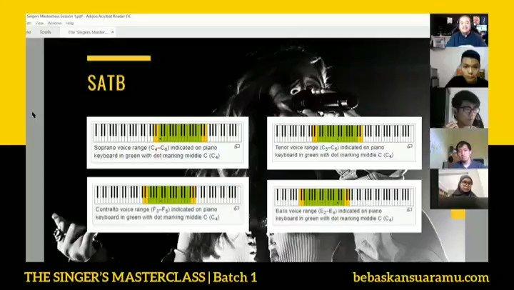 Ini cuplikan The Singer's Masterclass batch 1.   Good news, masterclass batch 2 akan segera saya umumkan. Pantau terus ya! #thesingersmasterclass #bebaskansuaramu #vokalplus https://t.co/PBkq6DXOZi