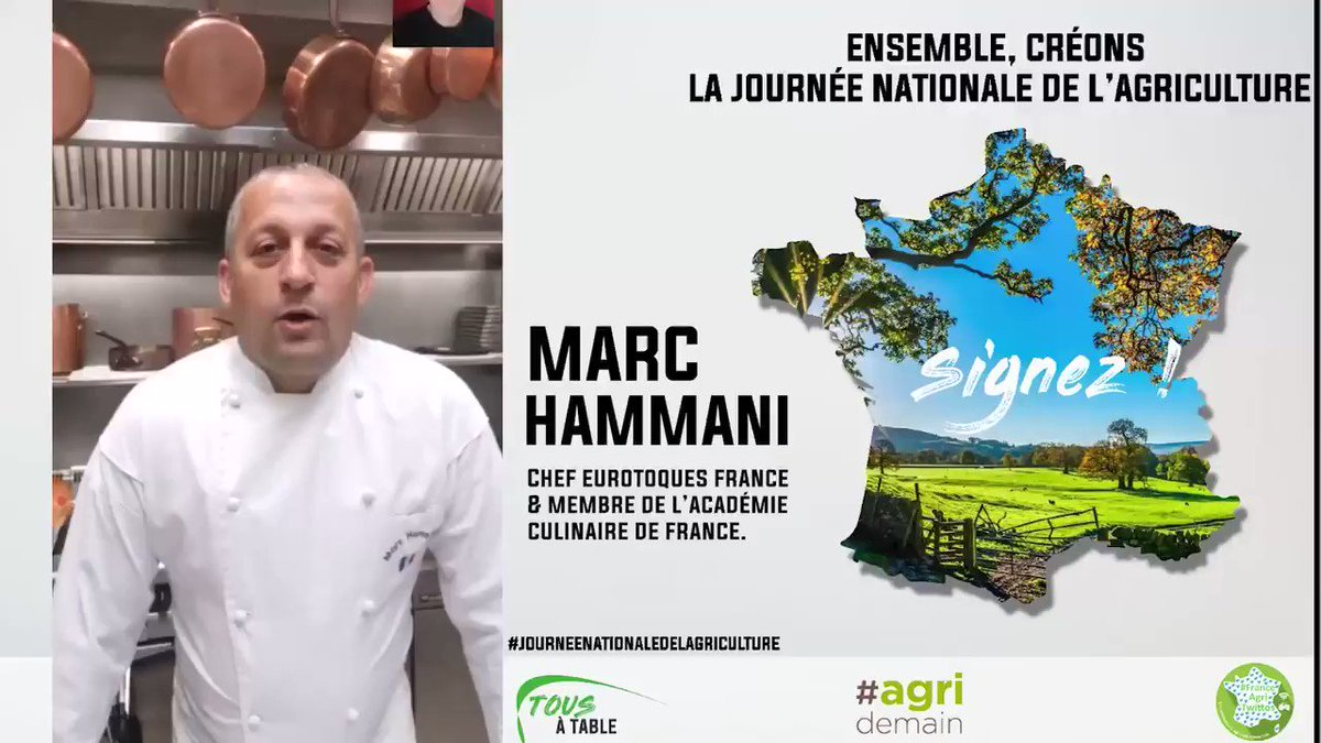 Image for the Tweet beginning: Le chef @MarcHammani d'#Amiens soutient