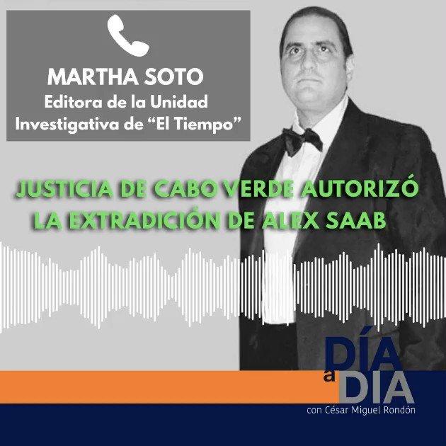 #DiaADia El Tribunal de Cabo Verde ha autorizado la extradición a Estados Unidos de Álex Saab. ¿Qué pasos vienen ahora? ¿qué falta para que se monte en el avión rumbo a Miami? (1/4) https://t.co/g2K6md1RmY https://t.co/89I1Qo8bCy