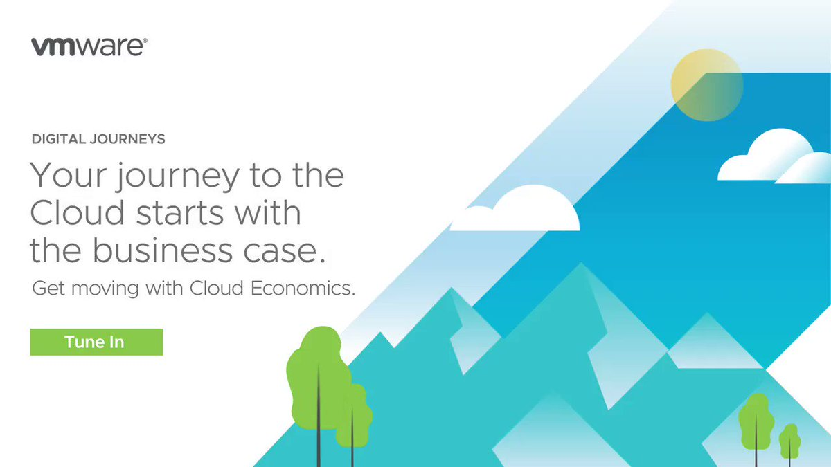 #CloudEconomics: What is it and why is it important? Join our panel of experts on August 6th at 10AM to understand why it's essential for your digital journey #VMConAWS #CloudMigration https://t.co/YX0RNHxvKy