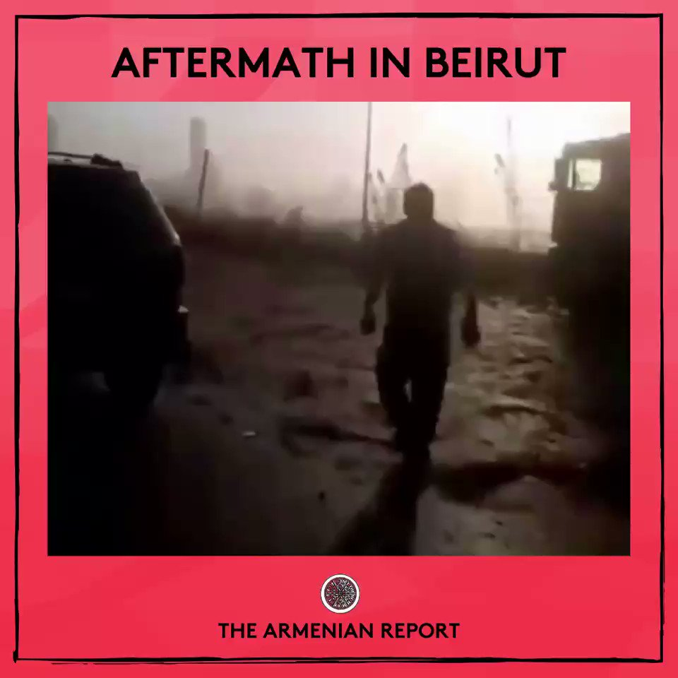 The #Armenian population in #Beirut has been heavily impacted from the explosions.   Story developing…  #thearmenianreport #armenia #hayastan #armenianreport  #beirut #lebanonpic.twitter.com/e9MIudD6bO