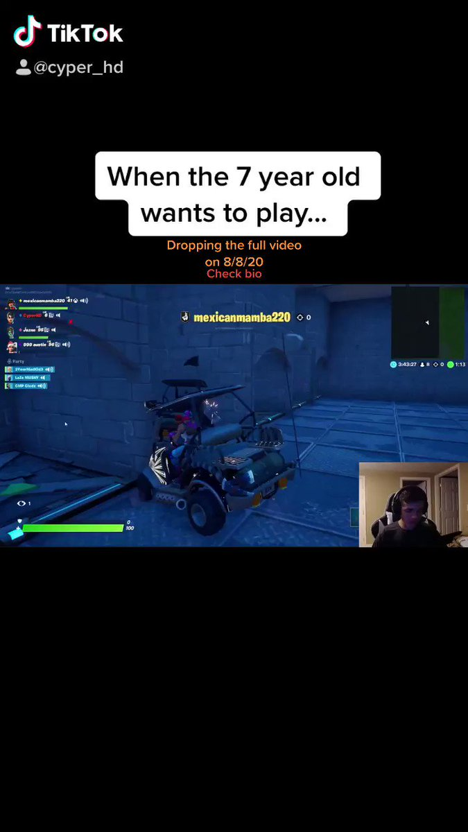 Dropping the first YouTube video this Saturday, this is a preview of what is to come!!! #Fortnite #5thAugustBlackDay #funny https://t.co/aAKAK7PO56
