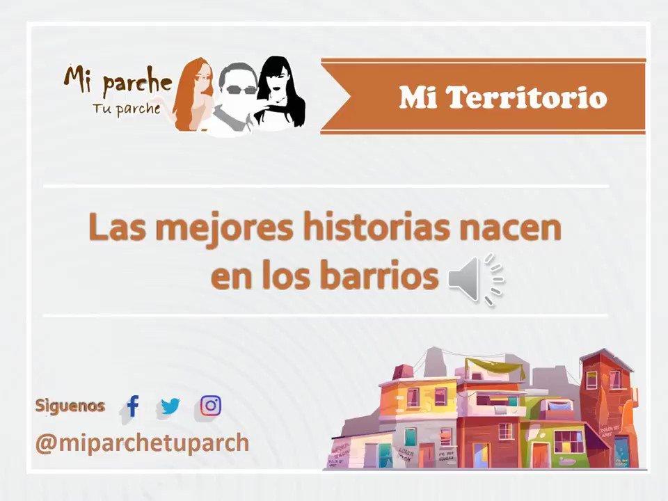Image for the Tweet beginning: Los barrios son una expresión