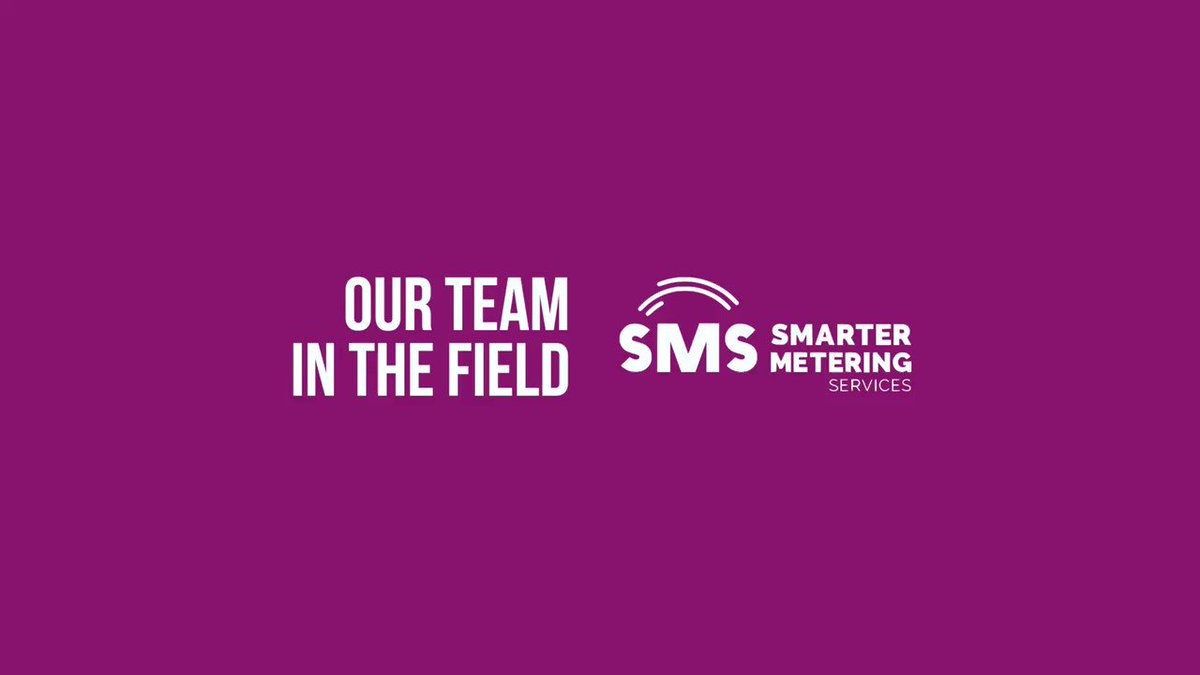 We are recruiting 25 new DF smart engineers to join our team in Sept and October 2020 and extend our operations in this area, these are needed in MPAN 10 / MPAN 19 / MPAN 12. Come and join Chelsea on her journey! So that email address again is... letsjointheteam@sms.energy