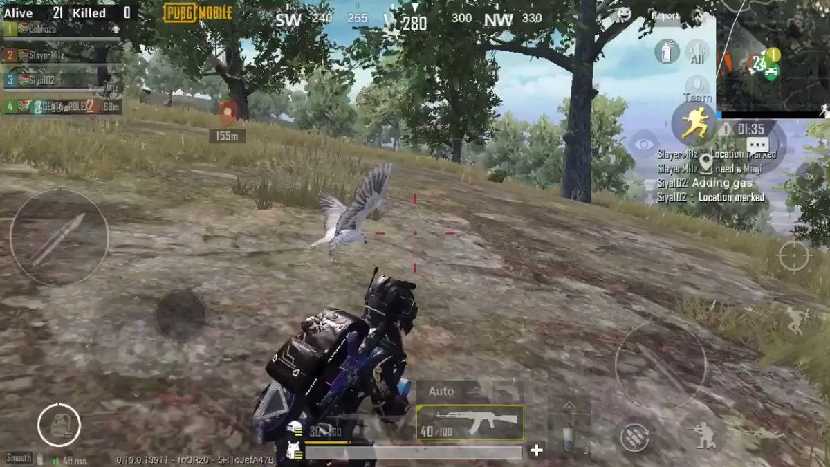 With the flank #PubgMobile https://t.co/9U5PEN897T
