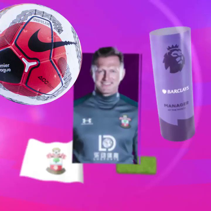 A fine finish to the season! @SouthamptonFCs Ralph Hasenhuttl is the @BarclaysFooty Manager of the Month for July 👏👏 #PLAwards