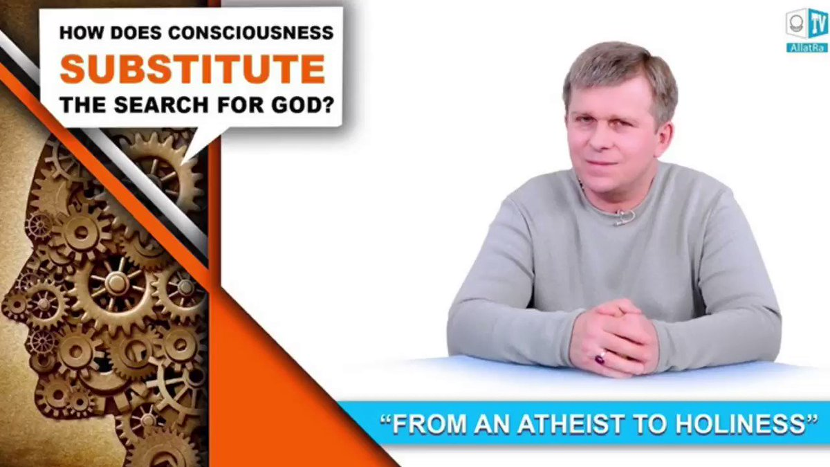 How does Consciousness substitute the search for God?  Fragment from video on ALLATRA TV   https://youtu.be/uyzWPy5hQvg   #allatra #freedom #happiness #truth #people #unity #world #love #creativesociety #society #allatraunites #consciosness #thoughts #Godpic.twitter.com/kd3b0yjUHz