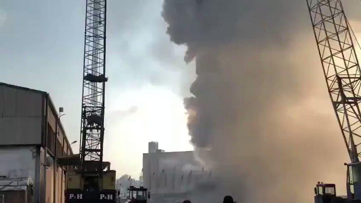 Image for the Tweet beginning: 🔴 La explosión en el